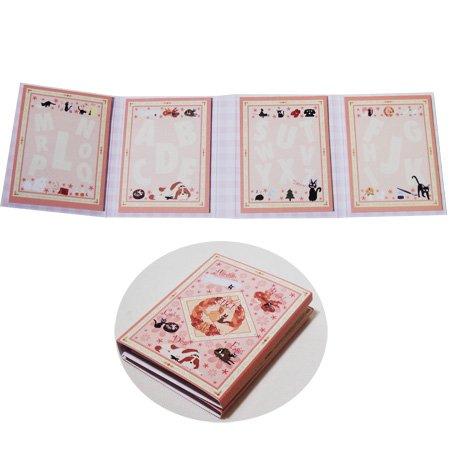 Post-it Notepad - 4 designs x 20 page each - Jiji - Kiki's Delivery Service - Ghibli - 2010 (new)