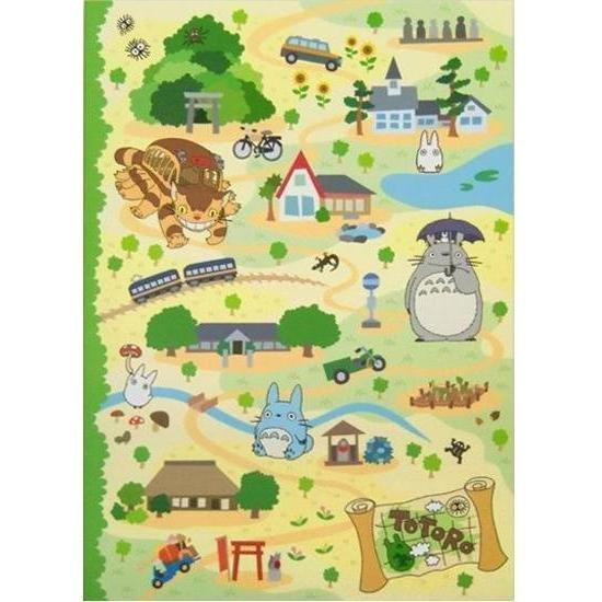 Notebook B5 - 18.4x25.7cm - Totoro & Chu & Sho & Nekobus - Ghibli - 2010 (new)