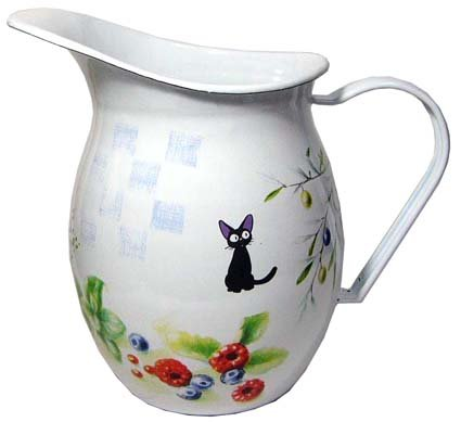1 left - Water Pitcher - Enamel - Jiji - Kiki's Delivery Service - Ghibli - out of production (new)