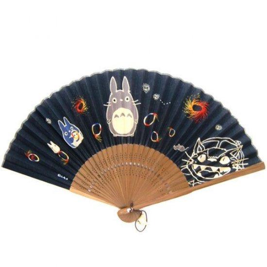 Folding Fan / Sensu - Sho Totoro Ornament - Ghibli -2010(new)