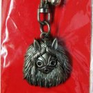 1 left - Key Holder - Metal - Bell - San's Mask - Mononoke - Ghibli - no production (new)