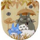 Toilet Lid Cover - Washlets - beige - Totoro & Chu & Kurosuke - Ghibli - 2010 (new)