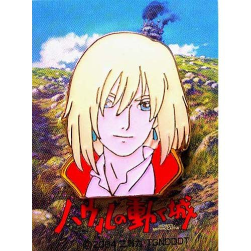 Pin Badge - Howl - Howl's Moving Castle - Ghibli - out of production (new)