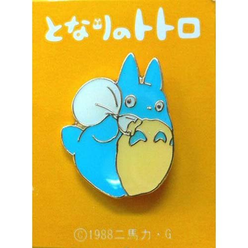 SOLD - Pin Badge - Chu Totoro - Ghibli - no production (new)