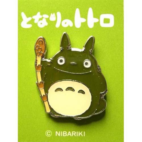Pin Badge - horsetail - Totoro - Ghibli - no production (new)