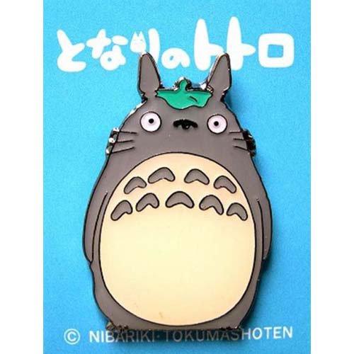 Pin Badge - Leaf on Head - Totoro - Ghibli (new)