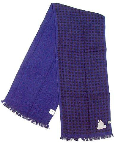 Towel Scarf -34x170cm-Jacquard Weaving- Totoro & Chu & Kurosuke -madeinJapan- Ghibli -2010(new)