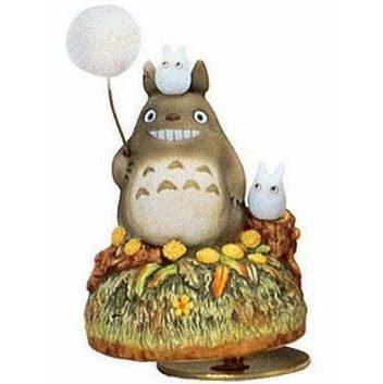 Music Box - Rotary - Porcelain -  tanpopo - Totoro & Sho - Ghibli - sekiguchi (new)