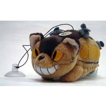 Mascot with Sucking Disc - Strap Holder - Nekobus - Totoro - Ghibli - Sun Arrow (new)