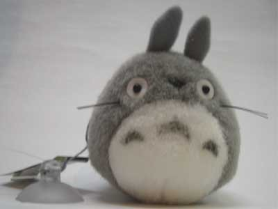Mascot with Sucking Disc - Strap Holder - Totoro - Ghibli - Sun Arrow (new)