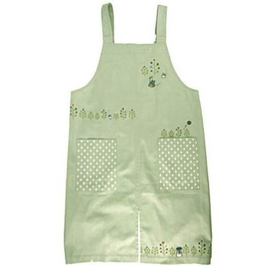 Apron M~L - Embroidered - Totoro - Ghibli - sun arrow - 2011 (new)