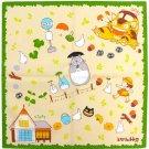 1 left - Handkerchief - 43x43cm - Totoro Chu & Sho & Nekobus & Kurosuke - 2011 - no production (new)