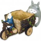 Planter Pot - Figure & Tricycle - Totoro & Chu & Sho & Kurosuke & Acorn - Ghibli (new)