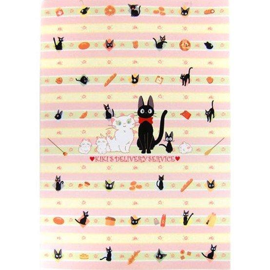 Notebook B5 - 18.4x25.7cm - Jiji & Lily - Kiki's Delivery Service - Ghibli - 2011 (new)