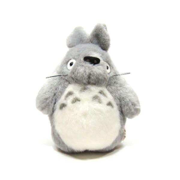 Plush Doll (S) - H18cm - gray - Totoro - Ghibli - Sun Arrow (new)