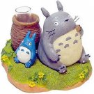 Small Vase - Totoro & Chu & Sho Totoro - Ghibli (new)