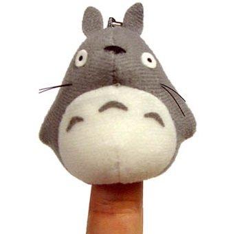 Finger Doll - Mascot - Chain Strap Holder - Totoro - Ghibli - 2011 - no production (new)