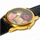 1 left - Watch in Leather Case - Seiko Made Japan - Chihiro Spirited Away Ghibli no production (new)