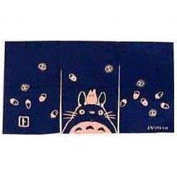 SOLD - Noren / Japanese Door Curtain - 45x85cm - Totoro & Sho & Kurosuke - out of production (new)