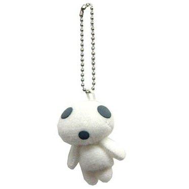 SOLD - Chain Strap Holder - Mascot - Kodama - Mononoke - 2011 - out of production (new)