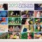 2012 Wall Calendar -Monthly- Totoro Nausicaa Kiki Mononoke Porco Spirited Ponyo Howl Arrietty (new)