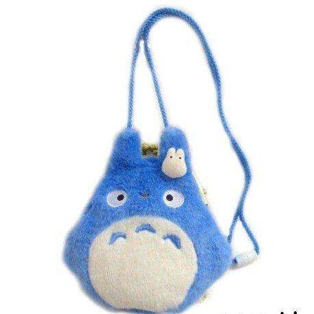 Purse Gamaguchi - Chu Totoro & Sho Totoro - Plush Doll - Ghibli - 2011 (new)