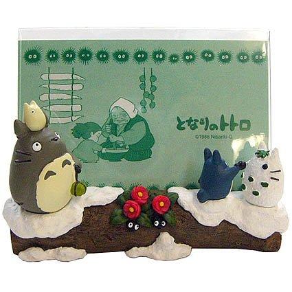 Photo Frame - winter - Totoro & Chu & Sho & Kurosuke - Ghibli - 2011- no production (new)