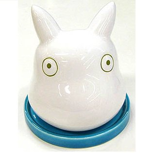 Planter Pot - Porcelain - blue - Sho Totoro - Ghibli - 2011 (new)