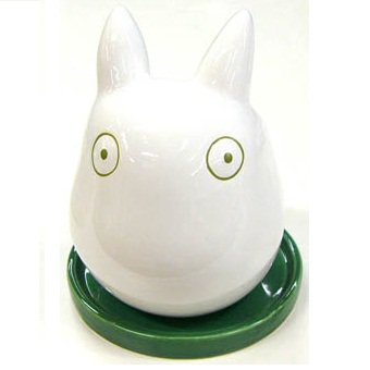 Planter Pot - Porcelain - green - Sho Totoro - Ghibli - 2011 (new)