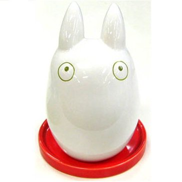 SOLD - Planter Pot - Porcelain - red - Sho Totoro - Ghibli - 2011 - no production (new)