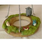 2 left - Planter Pot Hanger - Totoro & Chu & Sho & Kurosuke - Ghibli - out of production (new)