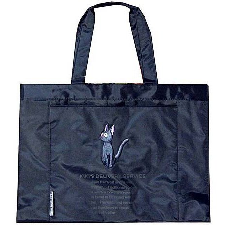 1 left - Tote Bag (L) - Jiji Embroidered - Kiki's Delivery Service - out of production (new)