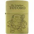 Zippo - Brass Case & Wooden Box - Serial Number - Nekobus - Totoro - 2009 - no production (new)