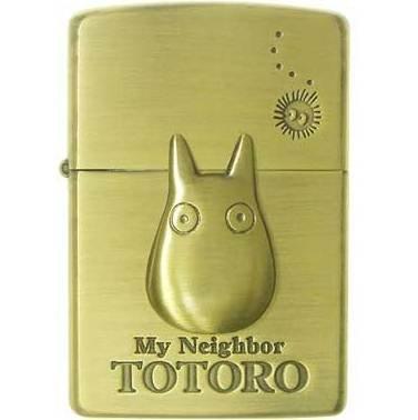 Zippo - Brass Case & Wooden Box - Sho Totoro - Ghibli - 2009 - no production (new)