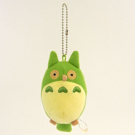 1 left- Mascot Strap Holder - Aruku no Daisuki Owl - Totoro - Ghibli Museum Short Film -no production (new)