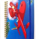 Ring Notebook B6 - Rubber Band - Porco Rosso - Ghibli - 2011 - no production (new)
