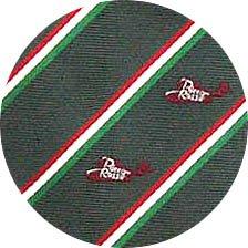 Necktie - Silk - khaki - Jacquard Weaving - made in Japan - Porco Rosso - Ghibli - 2011 (new)