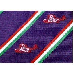 Necktie - Silk - purple - Jacquard Weaving - made in Japan - Porco - Ghibli - 2011 (new)