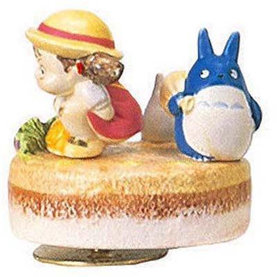 Music Box - Rotary - Porcelain - Deai - Chu & Sho Totoro & Mei - Sekiguchi no production (new)