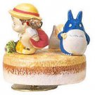 Music Box - Rotary - Porcelain - Deai - Chu & Sho Totoro & Mei - Sekiguchi no production (new)
