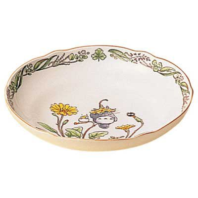 Bowl (M) - 19cm - Bone China - Noritake - Totoro - Ghibli (new)