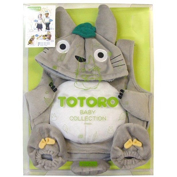 Baby Clothes & Cap & Shoes - 3 items - Baby Gift Set - Totoro - Ghibli - 2011 (new)