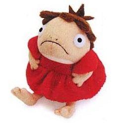 5 left - Plush Doll (S) - Ponyo Hangyojin - Ghibli - Sun Arrow - 2008 - no production (new)
