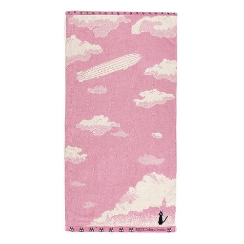 Bath Towel - NonThread Steam Shirring -Korico- Jiji - Kiki's Delivery Service - 2009(new)