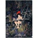Clear File A4 - 22x31cm - Kiki & Jiji - Kiki's Delivery Service - Ghibli - 2012 (new)