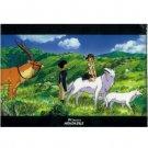 Clear File A5 - 15.5x22cm - Ashitaka & San & Yakkuru & Inugami  - Mononoke - Ghibli - 2012 (new)