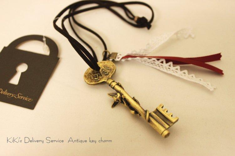 Necklace / Strap Holder - Key - Jiji - Kiki's Delivery Service - Ghibli - 2011 - no production (new)