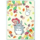 Blanket (M) - 100x140cm - Polyester & Microfiber - mushroom - Totoro - 2012 (new)