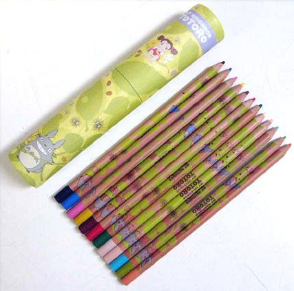 12 Pencil in Case - Totoro - Ghibli - 2012 (new)