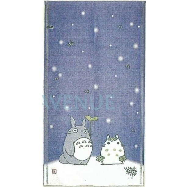 Noren - Japanese Door Curtain - 85x150cm - Winter - made in Japan - Totoro - Ghibli - 2012 (new)